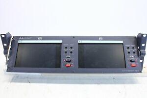 Datavideo 2x7 Inch LCD Monitor TLM-702 (no.2)