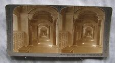 #13 Underwood Stereoview - Vatican Library, Rome, Italy 2082