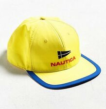 New Nautica Vtg Collection Retro Yellow Sailing Racing Embroidered Cap One  Size 1be205767b6e