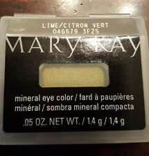 Mary Kay MINERAL Eye Color Shadow Lime