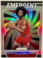 COBY WHITE 2019-20 Panini Prizm Emergent SILVER Prizm MINT Rookie RC 🔥HOT