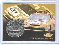RARE 1997 PINNACLE MINT TERRY LABONTE SILVER COIN & DIE-CUT CARD #25 ~ NASCAR