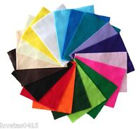 The Craft Factory Acrylic Felt Sheet  23 x 30 cm - Choice of Colours - Pack of 2