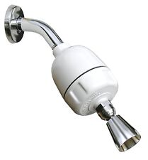 Rainshowr KDF Shower Filter with Designer Fixed Action Shower Head CQ-1000-DS