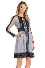ALICE BY TEMPERLEY Long Sleeved Misty Dress - UK8/US4 or UK12/US8