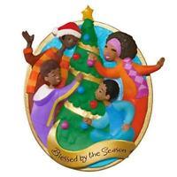 Hallmark 2016 Blessed By The Season Keepsake Ornament African American Family