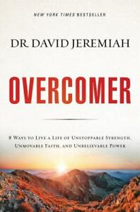 Overcomer HB/DJ by Dr David Jeremiah FREE SHIPPING