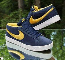 Nike Blazer SB CS Men's Size 13 Midnight Navy Varsity Maize 395771-400