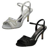 Ladies F1R0579 High Heel Evening Sandals By Anne Michelle