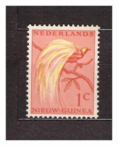 Dealer Stock Netherlands New Guinea 1954 MNH Bird Of Paradise 1c 10 Sets 37202