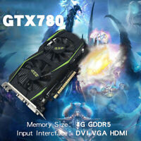 GTX780 4G 128bit DDR5 Gaming VideoGraphics Card For Desktop Computer Gaming NEW!