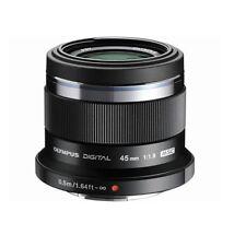 Olympus M.ZUIKO Digital ED 45mm F1.8 Micro PEN Lens Black