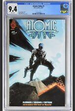 Atomic Robo #1 (2007) - CGC 9.4 - HTF, Low Census