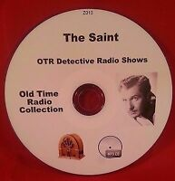 The Saint OTR MP3 CD Vincent Price 88 Episodes Old Time Radio Audio Book