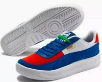 Puma GV Special Primary Mens Size 9.5 372303-01 Blue/White/Red Leather Sneaker