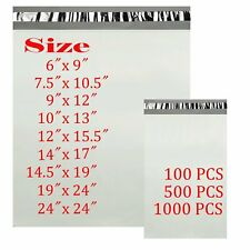 6x9 75x105 9x12 10x13 14x17 Poly Mailers Shipping Envelopes Self Sealing Bags