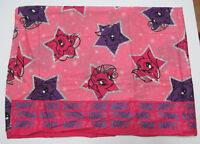 My Little Pony Superstars Twin Flat 96 x 65 Sheet Pink Purple Fabric