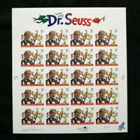 US Stamps Scott #3835 DR. SEUSS 2004 Sheet of 20 Mint NH OG
