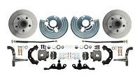 Mopar A Body Std Disc Brake Conversion Kit Wheel Kit Only (wheel pattern 5x4)