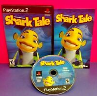 Shark Tale Dreamworks - PS2 Playstation 2 COMPLETE Game 1 Owner Near Mint Disc