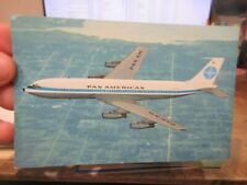 New ListingOther Old Postcard Airplane Plane Aircraft Pan Am American Boeing 707 Clipper