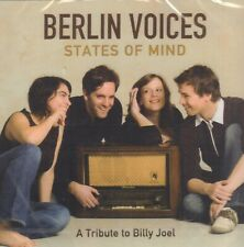 BERLIN VOICES ‎– STATES OF MIND - A TRIBUTE TO BILLY JOEL (2007 JAZZ CD)