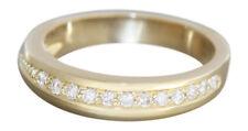 Brillantring Designerring mit 12 Brillanten massiver Goldring 585 Ring Gold