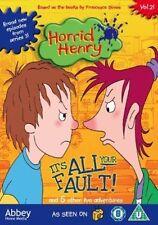Horrid Henry - It's All Your Fault [DVD], Very Good DVD, ,