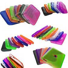 Silikon Schutz Hülle Gummi Case TPU Cover Handy Tasche Bumper Etui Transparent