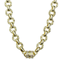 "Kirks Folly Unchain My Heart Magnetic 32"" Necklace (Goldtone) with KF Gift Box"