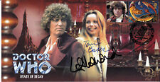 Doctor Who State Of Decay Limited Edition Cover Signed TOM BAKER & LALLA WARD