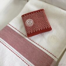 HERMES cotton towel & wrist band box set for sport jacket coat boots bag home
