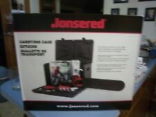 """Jonsered chain saw carry case up to 20"""" bar & xtra room 581827401 nla fits many"""