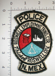 NM New Mexico INDIAN Tribal POLICE Training Center ROSWELL ACADEMY school patch