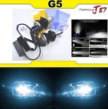 LED Kit G5 80W 9008 H13 8000K Icy Blue Headlight Two Bulbs 4 Side Hi/Lo Lamp OE