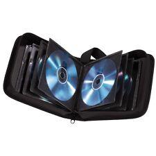 32 CD DVD Carry Case Disc Storage Holder CD Case Sleeve Wallet Ideal In Car