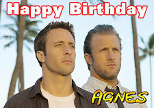 Hawaii Five-O 5-O Steve Mcgarrett Danno Birthday PERSONALISED Greeting Card 50?