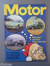 R&L Mag Motor Feb 8 1975: Toyota Celica & Citroen GS Pallas Test