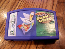 Leapster Leap Frog Learn To Draw And Write Game