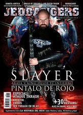 SLAYER - Jedbangers # 33 Magazine Argentina