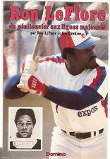 Ron LeFlore pénitencier aux ligues majeures Expos Montreal 1980