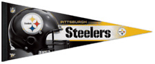 PITTSBURGH STEELERS FULL SIZE ROLL & GO PENNANT!  NEW! PERFECT FOR MAN CAVE