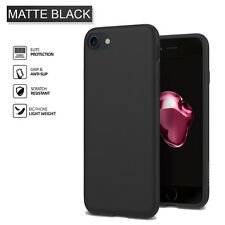 for iPhone 8 / 7 Case Spigen Liquid Crystal Clear Protective TPU Case Cover Matte Black