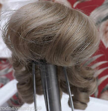 4 New All Same Synthetic Doll Wigs Size 7 - 8 Color: BLONDE