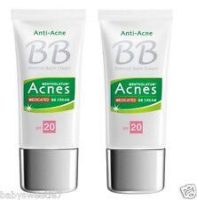Mentholatum Medicated Anti-Acne BB Cream SPF20 30g x 2 = 60g NIB