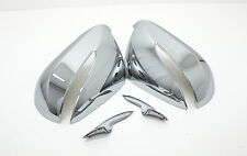 Chrome Side Back Mirror Cover Garnish (Fit: Hyundai Santa Fe Sports 2013 2014)