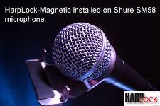 'HarpLock'. Revolutionary Hands & Rack Free Mic/Microphone Harmonica Holder