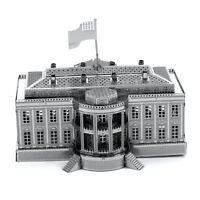Metal Earth 3D Laser Cut Steel Model Kit Washington D.C. Capital White House