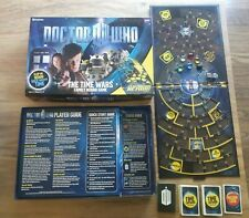 Doctor Who The Time Wars Family Board Game - COMPLETE - BBC 2010