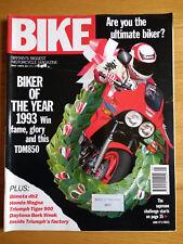 Bike Magazine - MAY 1993 - BIMOTA DB2 - TIGER 900 - VF750 - CBR1000 DCS